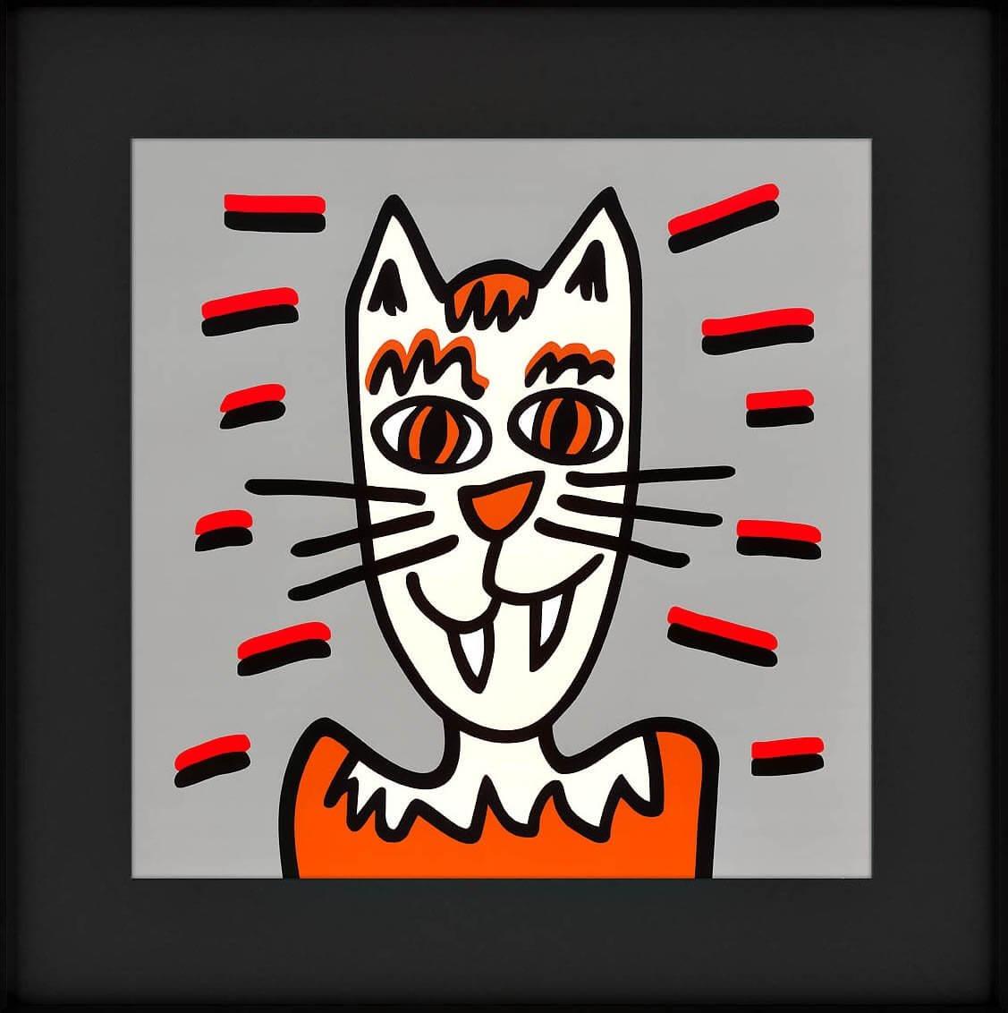 James Rizzi: Icon Cat
