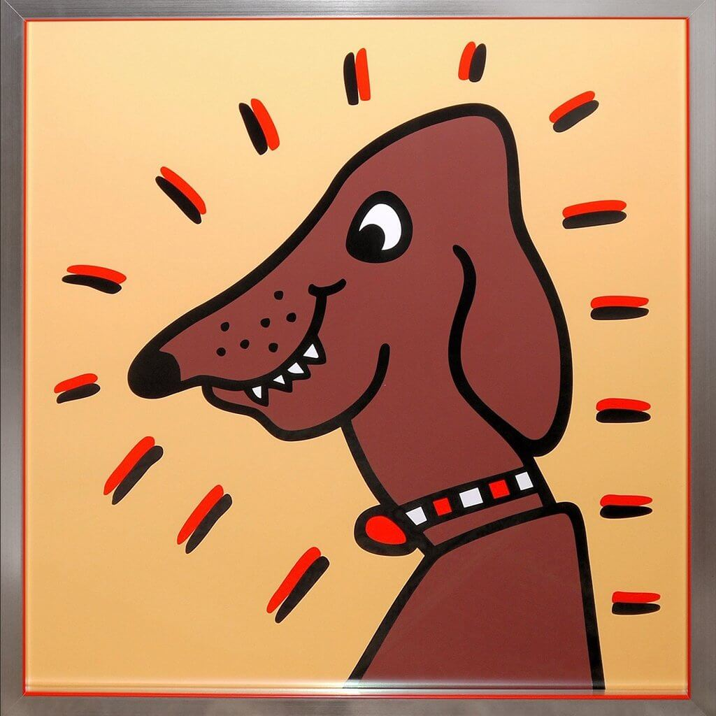 James Rizzi: Icon Dog