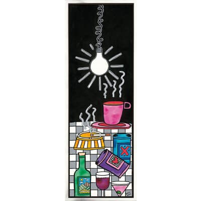 James Rizzi: Light Me Up