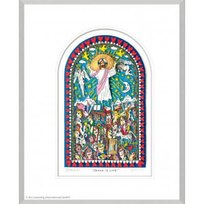 James Rizzi: Jesus Is Life