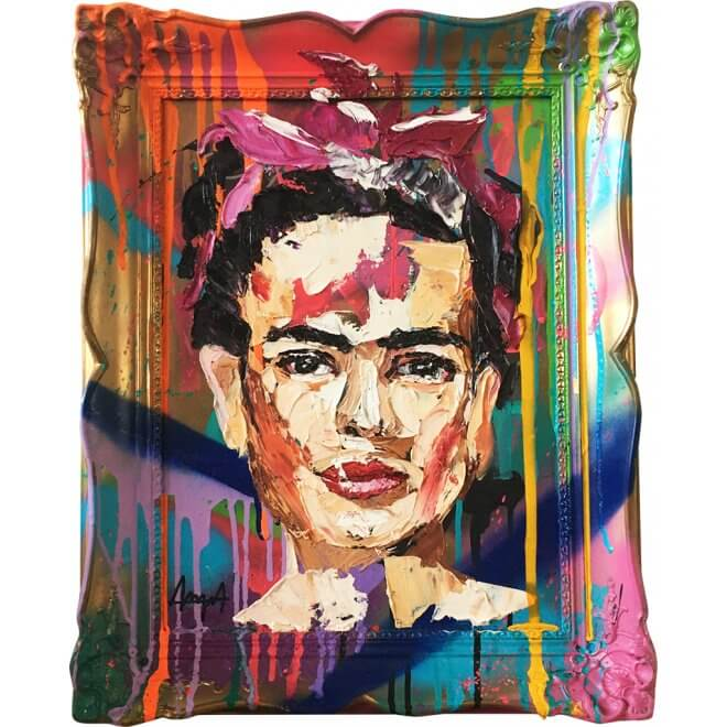 Anna Schellberg: Frida framed