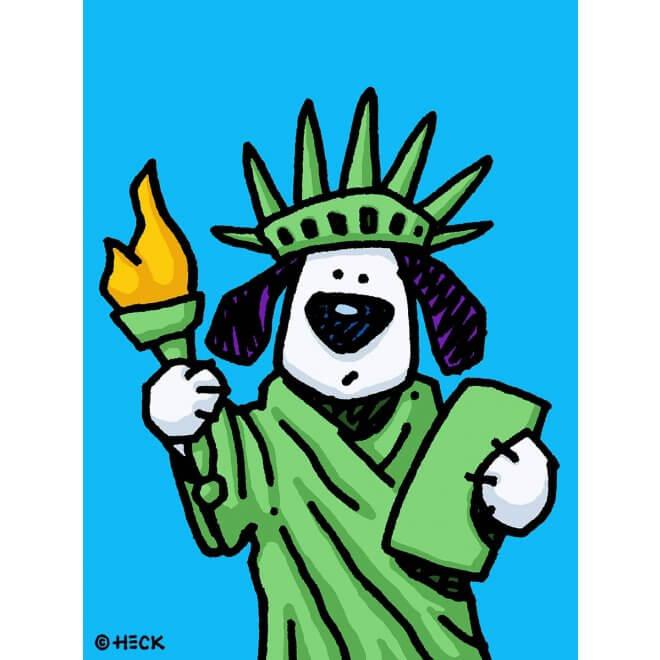 Ed Heck: Liberty Dog