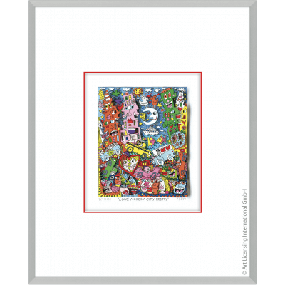 James Rizzi: Love Makes A City Pretty