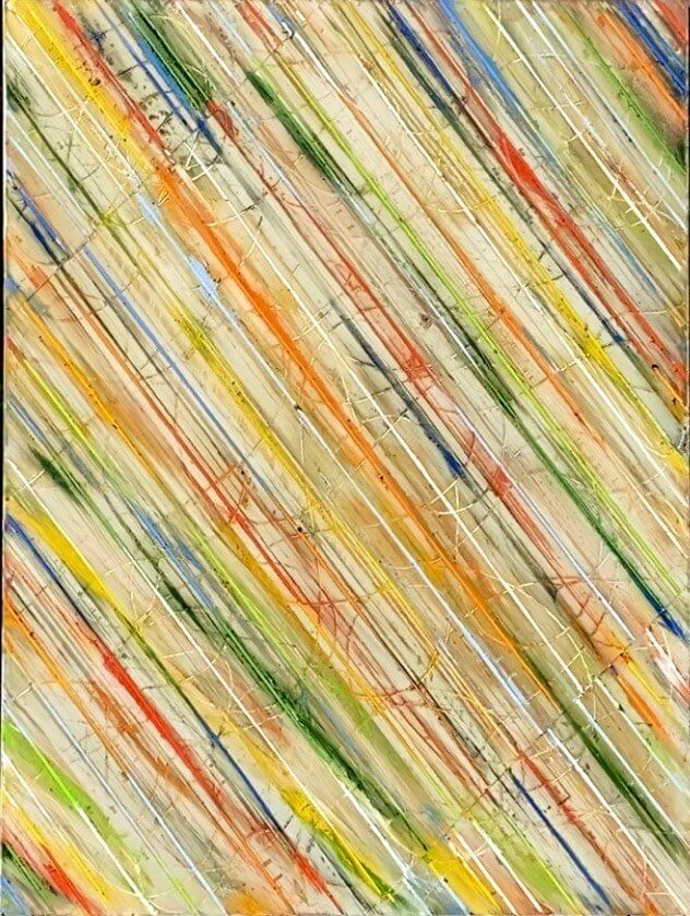 Petra Roes-Nickel: Diagonal Stripes
