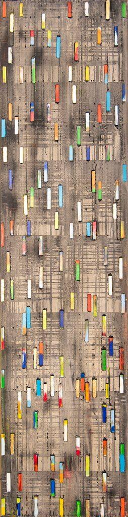 Petra Roes-Nickel: Short Stripes