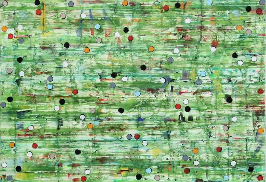 Petra Rös-Nickel: Green Dots