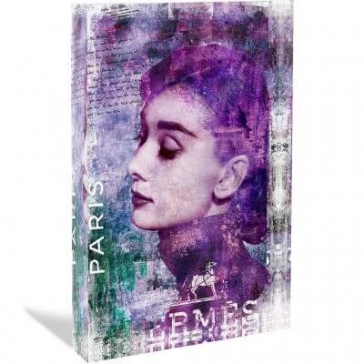 Devin Miles: Hepburn - Acrylblock