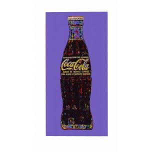 Andrei Krioukov: Cola-Flasche (indigo)