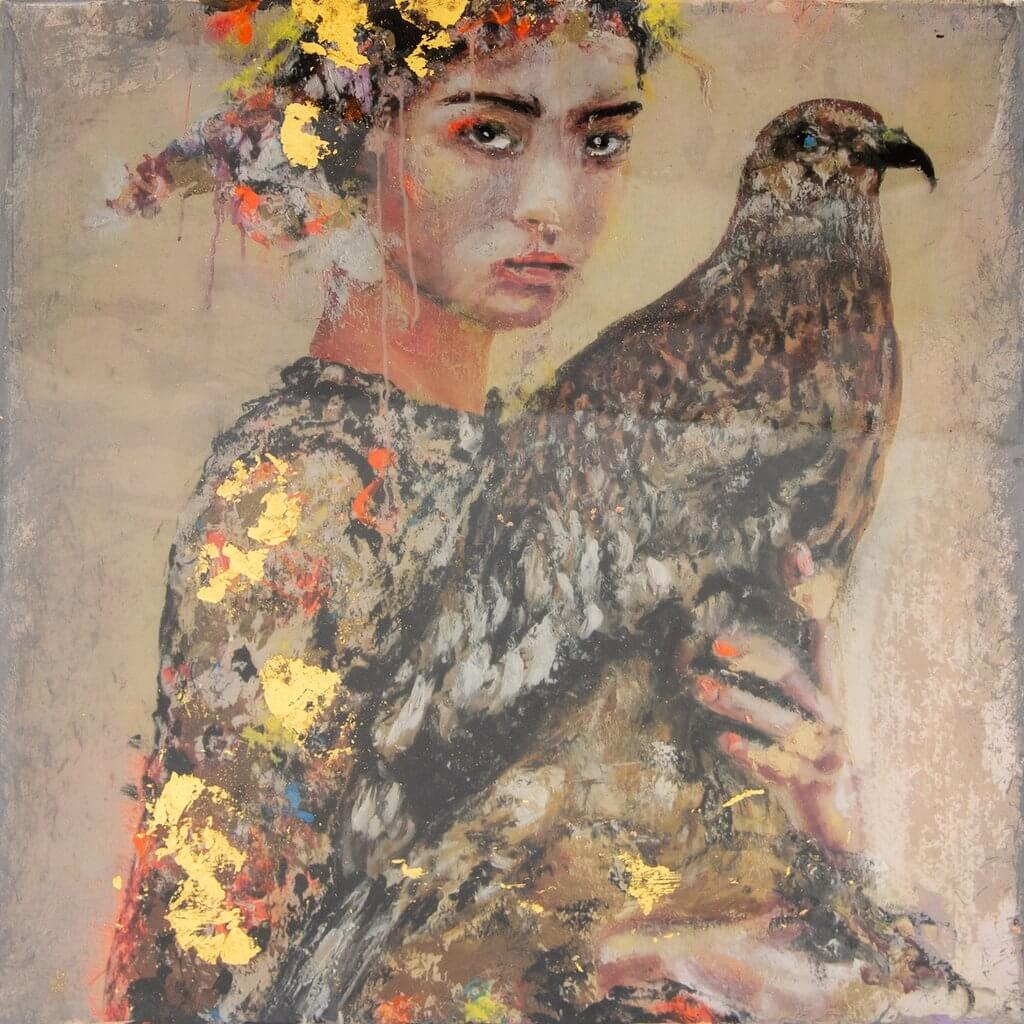 Astrid Stöfhas: The Falcon Hairstyle