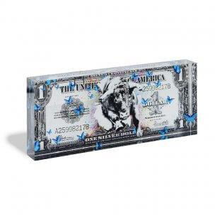 Devin Miles: One Dollar Silver - Acrylblock