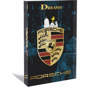 Devin Miles: Porsche - Acrylblock