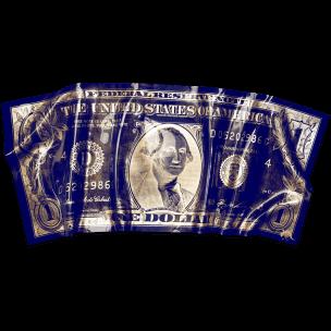 Devin Miles: One American Dollar - Blue