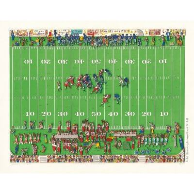 James Rizzi: Football Frenzy