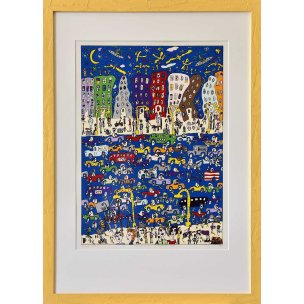 James Rizzi: Midnight in Manhattan