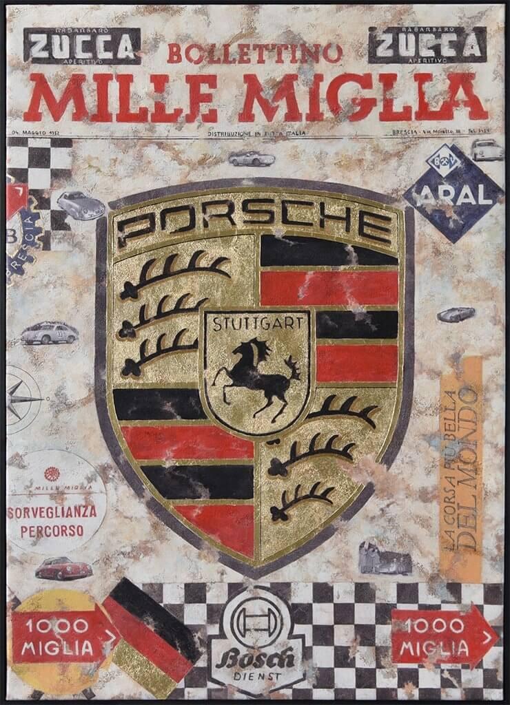 Ferencz Olivier: Mille Miglia Porsche