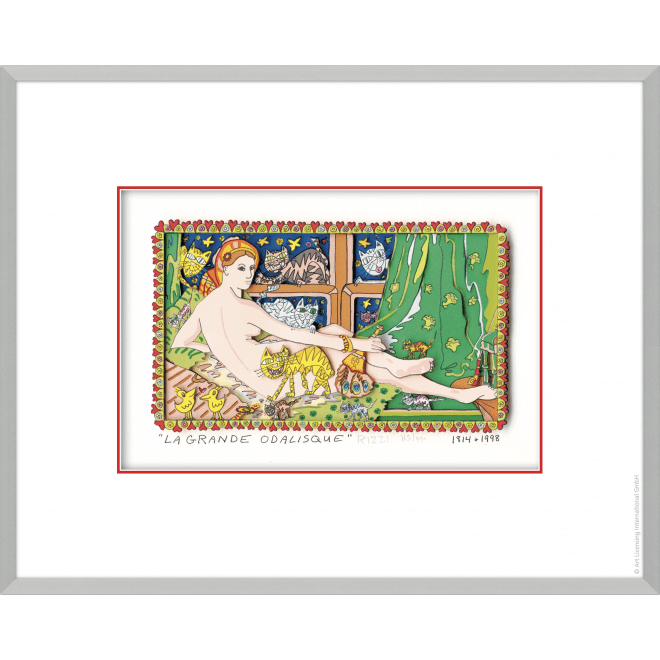 James Rizzi: La Grande Odalisque