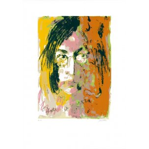 Armin Mueller-Stahl: John Lennon (grün/orange)