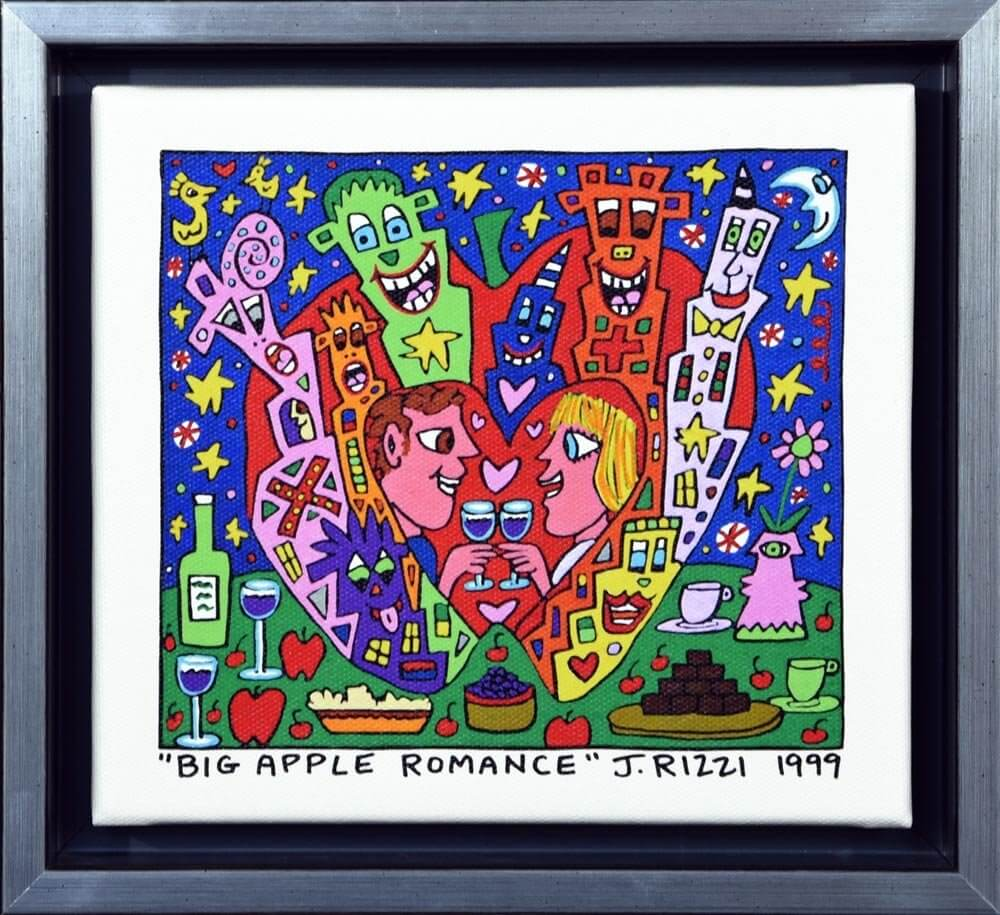 James Rizzi: Big Apple Romance