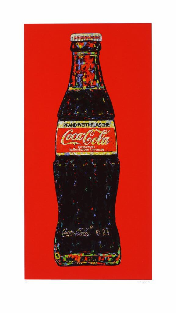 Andrei Krioukov: Cola-Flasche (rot)