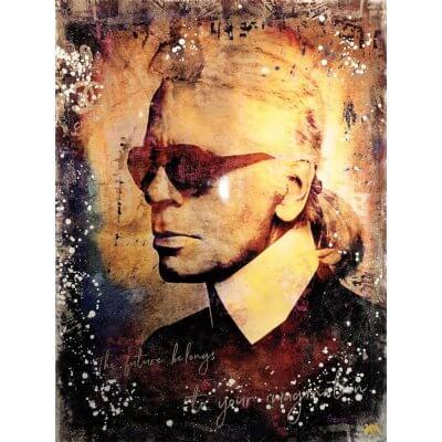 Devin Miles: Karl Lagerfeld
