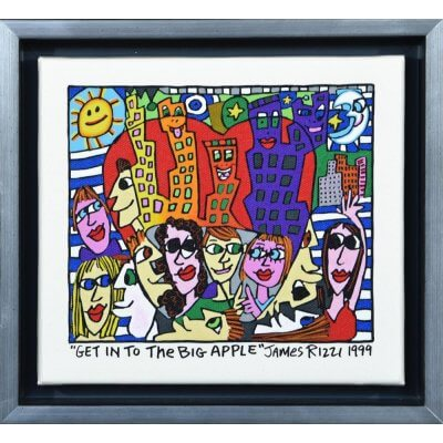 James Rizzi: Get Into The Big Apple