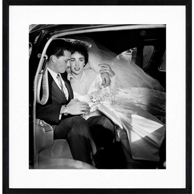 Frank Worth: Elizabeth Taylor_Conrad Hilton on Wedding Day