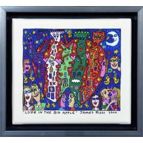 James Rizzi: Love In The Big Apple