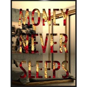Devin Miles: Money never sleeps - Gold (Mirror Inox)