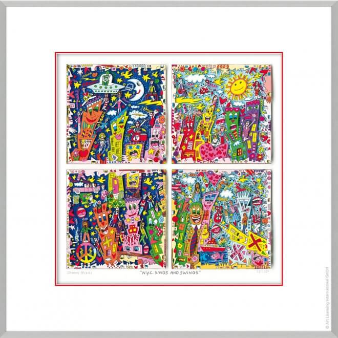 James Rizzi: NYC swings and sings