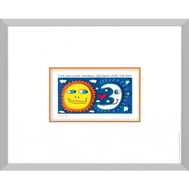 James Rizzi: The sun loves the moon, the moon loves the su