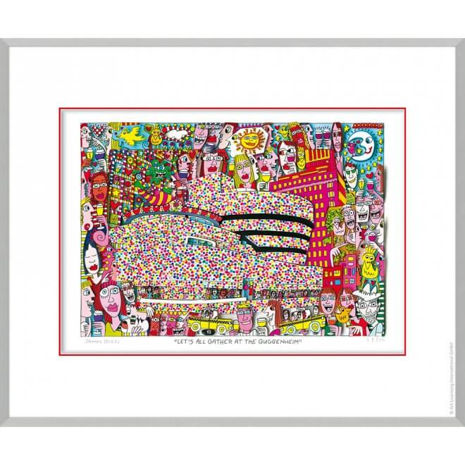 James Rizzi: Let`s all gather at the Guggenheim