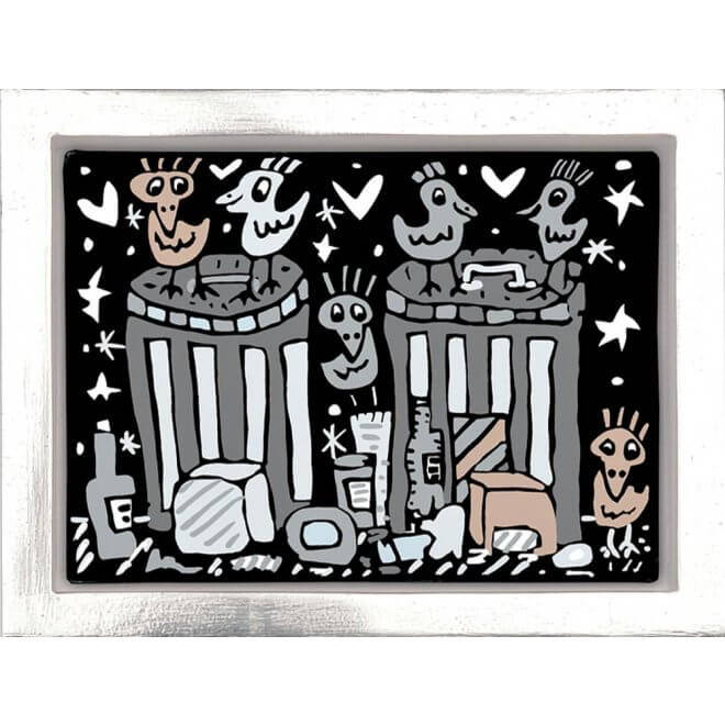 James Rizzi: Garbage night