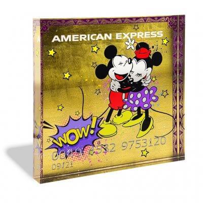 Devin Miles: Amex Gold - Acrylblock