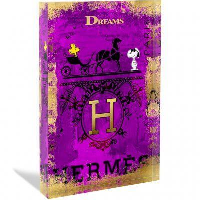 Devin Miles: Hermes - Acrylblock