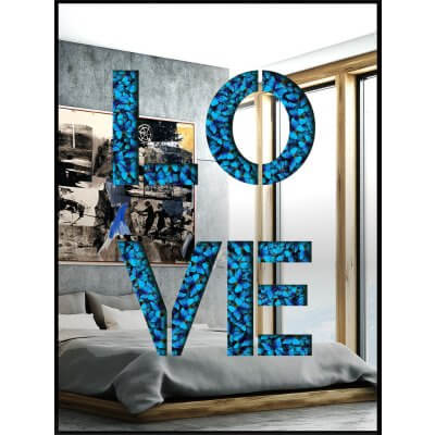 Devin Miles: Love (Mirror Inox)