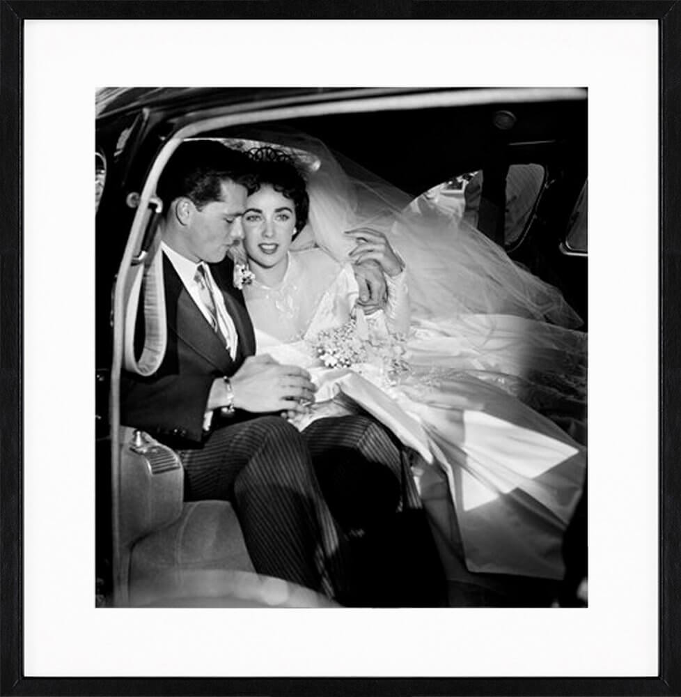 Frank Worth: Elizabeth Taylor & Conrad Hilton on Wedding Day