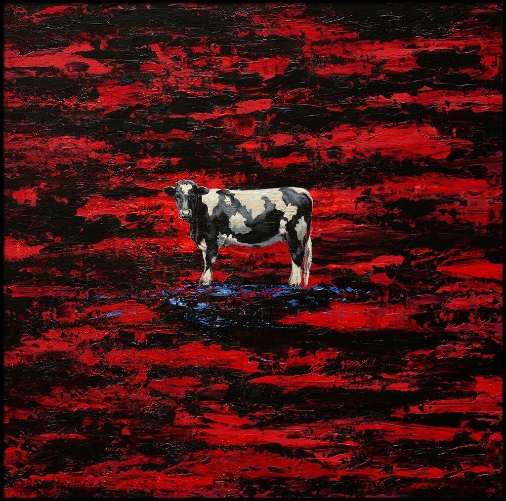 Jean-Pierre Kunkel: Holsteinische Kuh