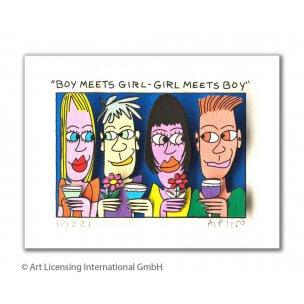 James Rizzi: Boy Meets Girl - Girl Meets Boy