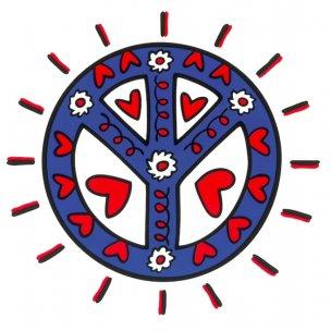 James Rizzi: Icon Peace