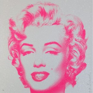 Mr. Brainwash: Marilyn Monroe - Diamond Girl
