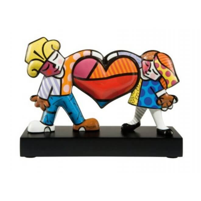 Romero Britto: Heart Kids