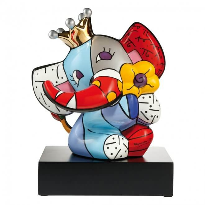 Romero Britto: Spring Elephant