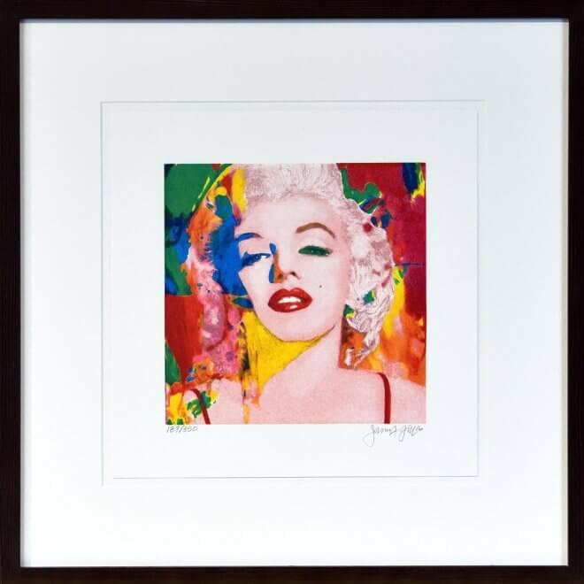 James Francis Gill: Mini Marilyn 1