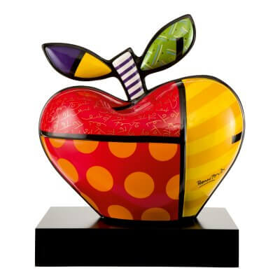 Romero Britto: Big Apple 58 (groß)