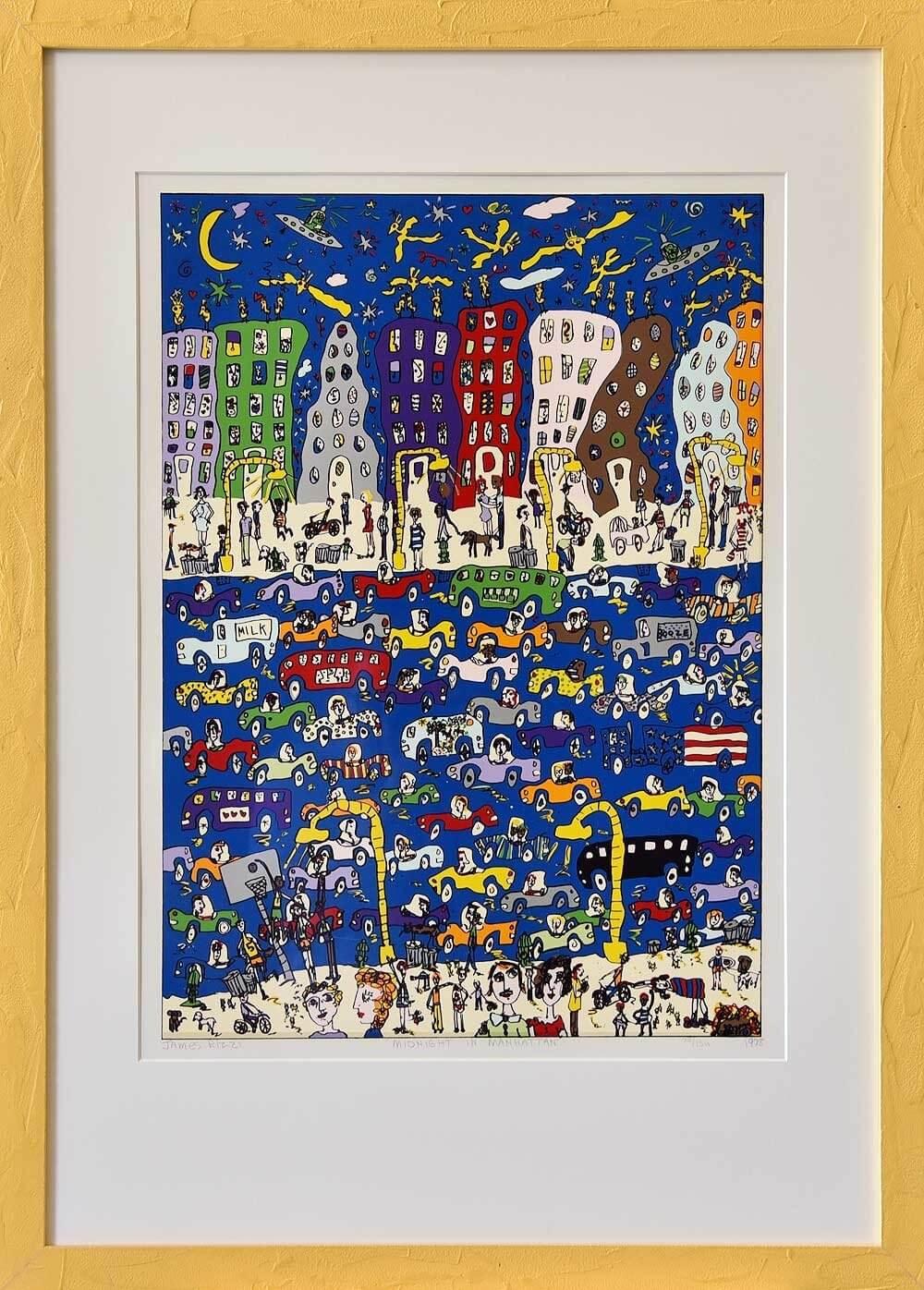 James Rizzi: Midnight in Manhattan