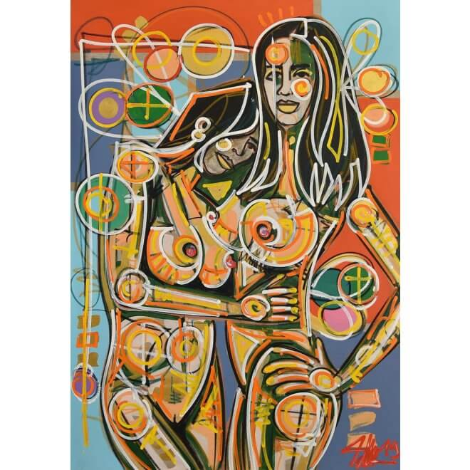 David Tollmann: Nude Royal #3