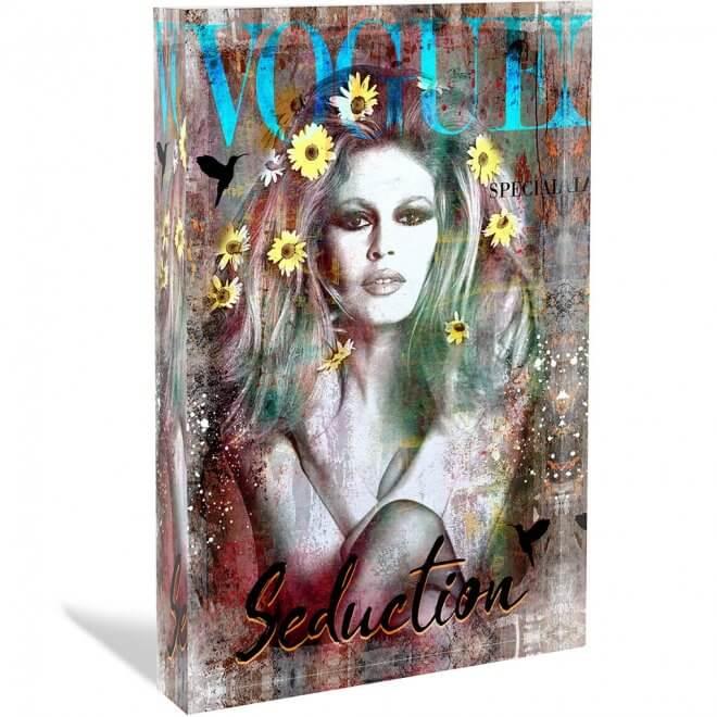 Devin Miles: Kolibri - Acrylblock