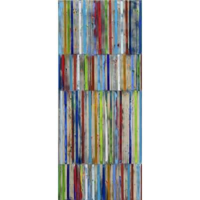 Petra Rös-Nickel: Color stripes