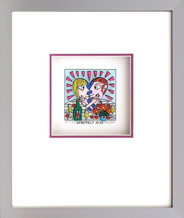 James Rizzi: Heartfelt Kiss