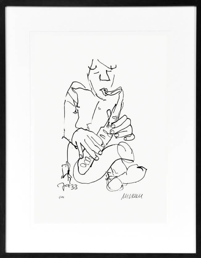 Armin Mueller-Stahl: Jazz-Saxophonist